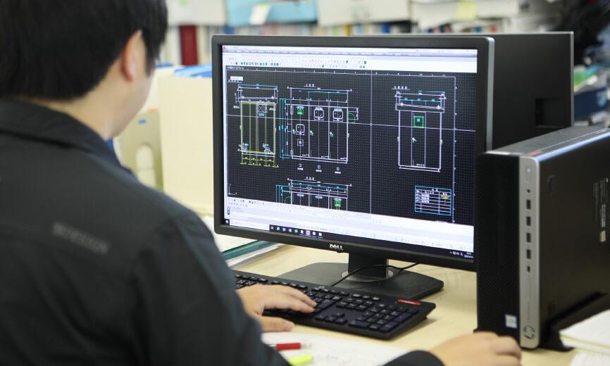 オーダーメイドシステム設計のイメージ